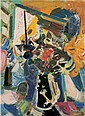 Wu Dayu , 1903-1988 Flourishing oil on canvas   , Dayu Wu, Click for value