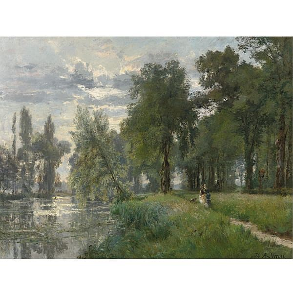 Alexandre-René Véron , French 1826-1897 