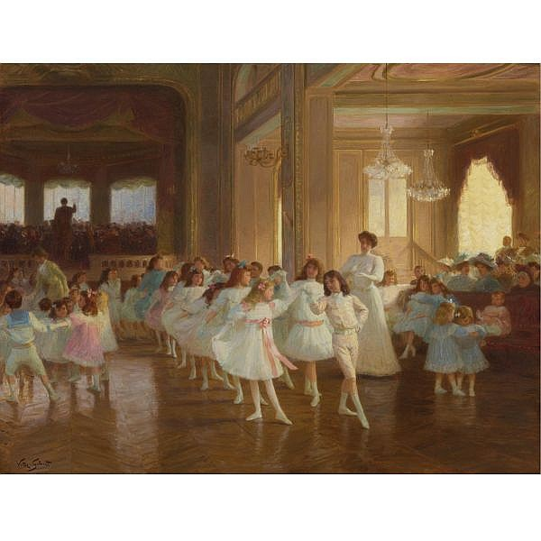 Victor Gabriel Gilbert , French 1847-1935 