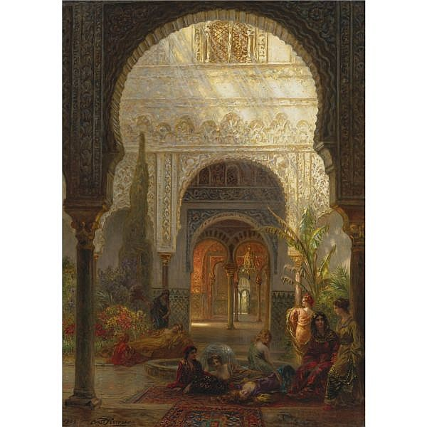 Ernst Karl Eugen Koerner , German 1846-1927 