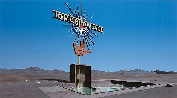 - Callum Morton , Australian B. 1965 TOMORROW LAND (FROM THE SERIES TOMORROW LAND)   Digital print