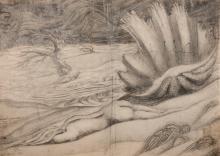 SALEM EL HABASHI (MOGLI) | Untitled (Valley of Nudes and Shells)