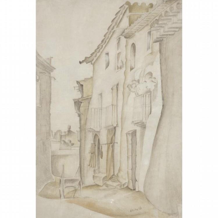 FREDERICK ETCHELLS, 1886-1973