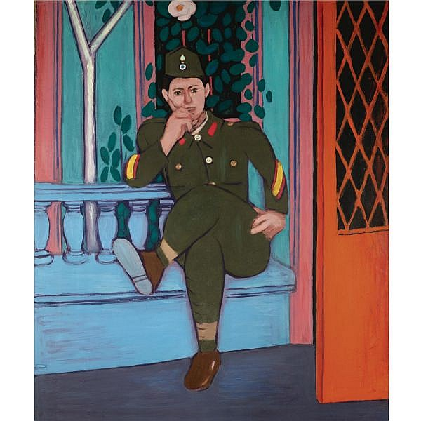 Diamantis Diamandopoulos , Greek 1914-1995 