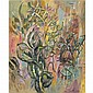 Nicos Hadjikiriakos-Ghika , Greek 1906-1994 leaves   oil on canvas     , Nicolas Ghika, Click for value