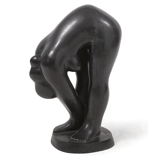 Nic Jonk , 1928-1995 Exercise bronze