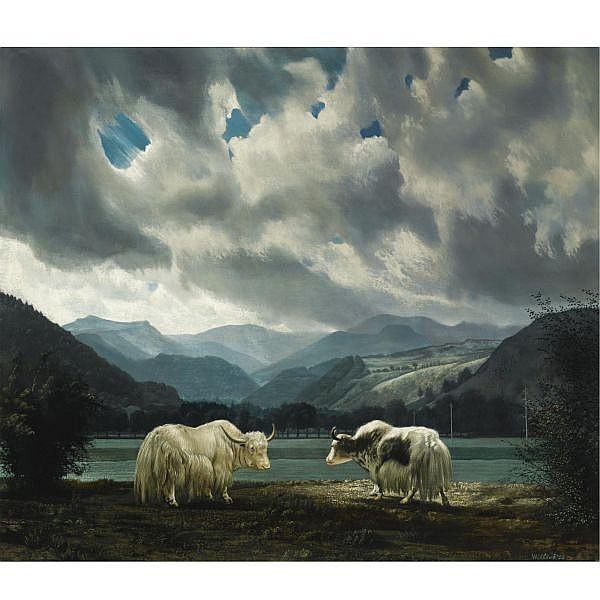 Carel Willink , 1900-1983 De Yaks oil on canvas