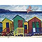 Malcolm Morley , b. 1931 Muizenberg oil on canvas   , Malcolm Morley, Click for value