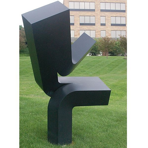 Clement Meadmore , 1929-2005 Upcast painted cast aluminum