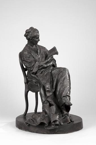 AIMÉ-JULES DALOU,1838-1902 LA LISEUSE FRANCE, XIXE SIÈCLE