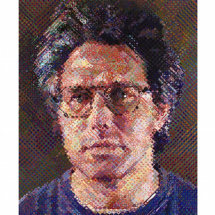 PROPERTY FROM A PRIVATE MIDWEST COLLECTION l - CHUCK CLOSE B. 1940 ERIC