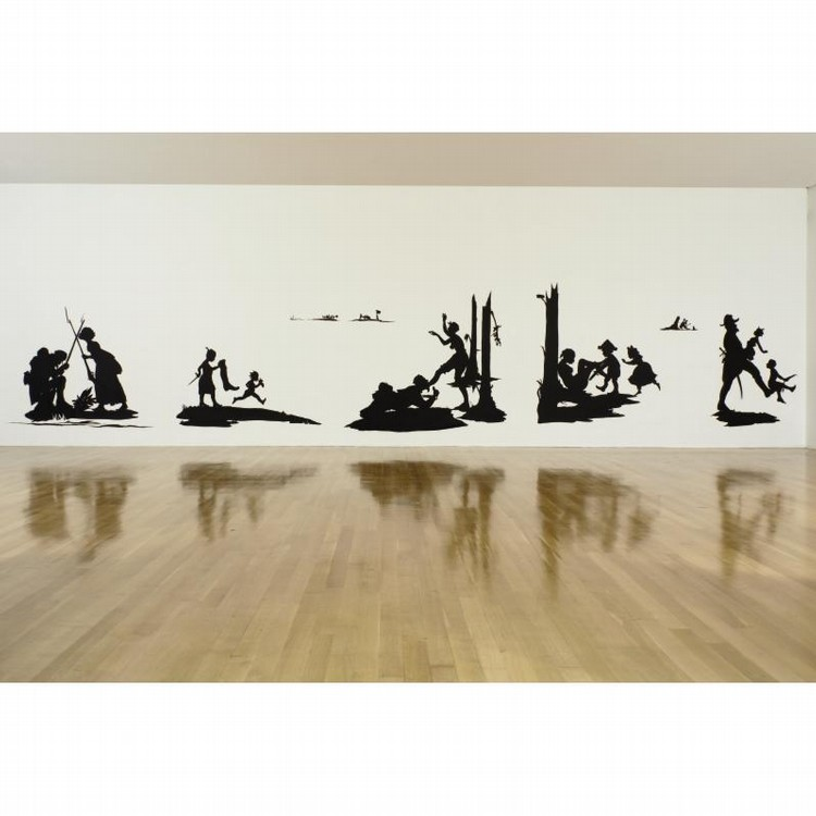 KARA WALKER B. 1969 THE BATTLE OF ATLANTA: BEING THE NARRATIVE OF A NEGRESS IN THE FLAMES OF
