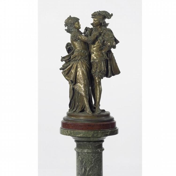 JEAN-LOUIS GRÉGOIRE 1840-1890 ROMEO AND JULIET
