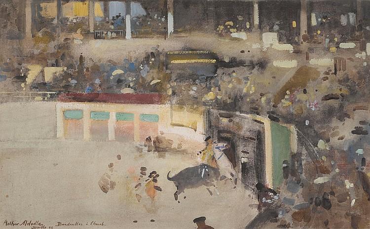 ARTHUR MELVILLE, A.R.S.A., R.S.W. A.R.S. | Banderilles à cheval