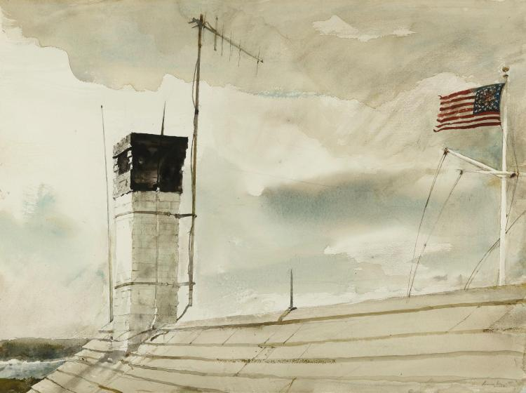 ANDREW WYETH | Aerial