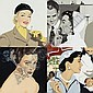 JULIA JACQUETTE B. 1964 WOMEN SMOKING : WHITE HAT, Julia Jacquette, Click for value