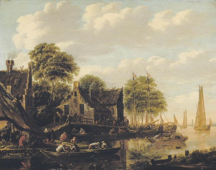 f - THOMAS HEEREMANS ACTIVE IN HAARLEM 1660 - 1697