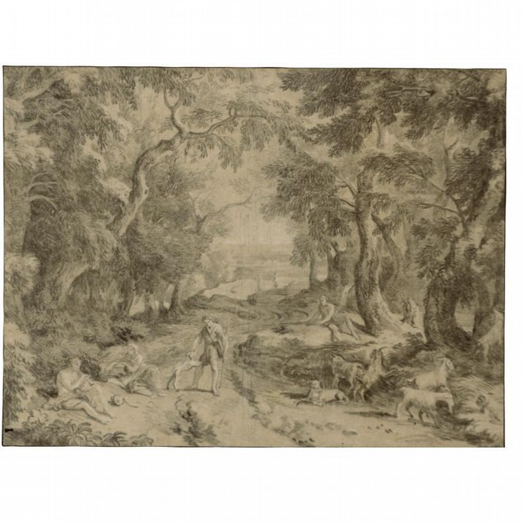 f - JAN JOOST VAN COSSIAU BREDA CIRCA 1660 - CIRCA 1733 MAINZ