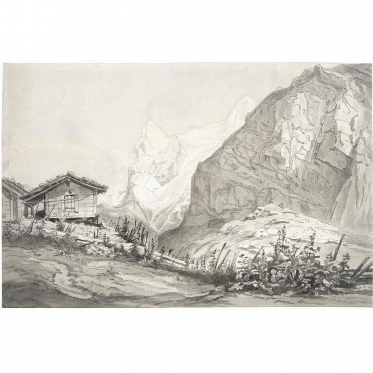 FRIEDRICH LOOS GRAZ 1797 - 1890 KIEL