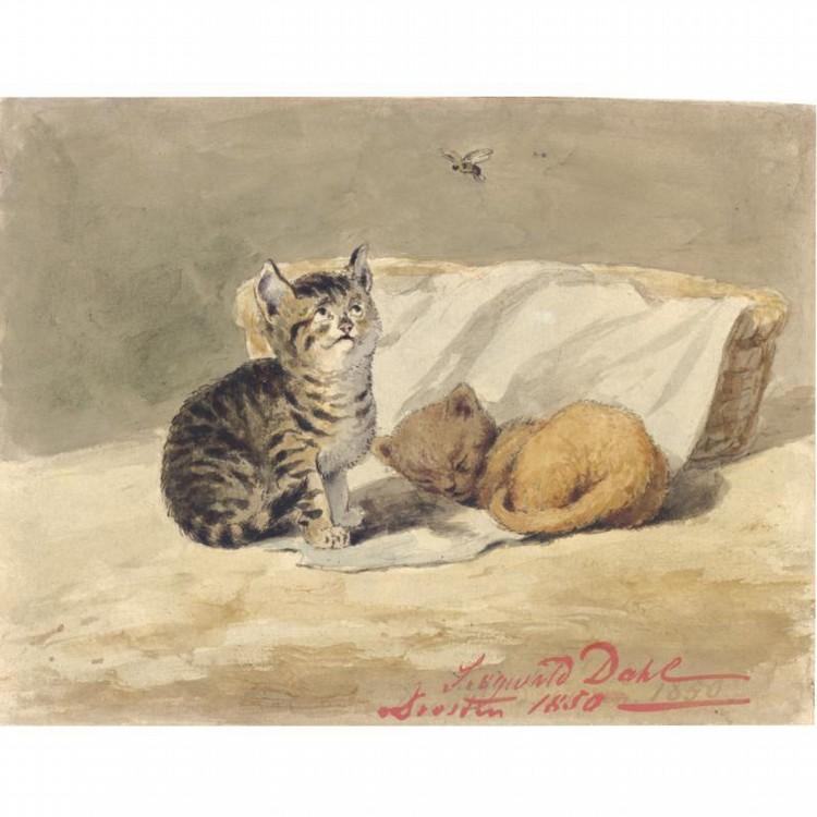 JOHANNES SIEGWALD DAHL DRESDEN 1827 - 1902