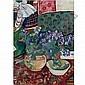 f - Natalia Sergeevna Goncharova, 1881-1962 , Bluebells oil on canvas, Natalia Goncharova, Click for value