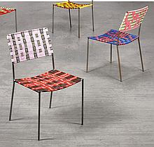 FRANZ WEST   Two 'Onkelstühle' (Uncle Chairs)