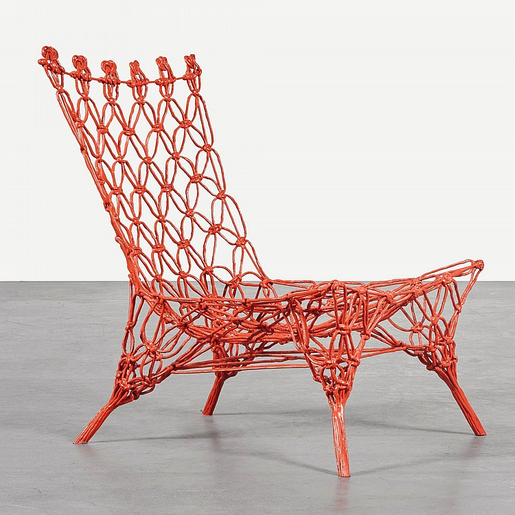 marcel wanders 39 knotted chair 39. Black Bedroom Furniture Sets. Home Design Ideas