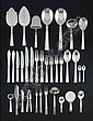 A CANTEEN OF SILVER CUTLERY BY IB JUST ANDERSEN FOR GEORG JENSEN DESIGNED IN 1918, EXECUTED AFTER, George Jensen, Click for value