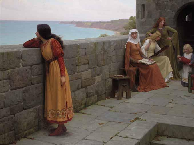 f - EDMUND BLAIR LEIGHTON 1853-1922
