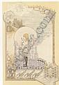CARLOS SCHWABE (SWISS 1866-1926) CHILDHOOD, Carlos Schwabe, Click for value
