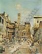 ROBERT ALOTT (AUSTRIAN 1850-1910) A ROMAN STREET SCENE, Robert Alott, Click for value