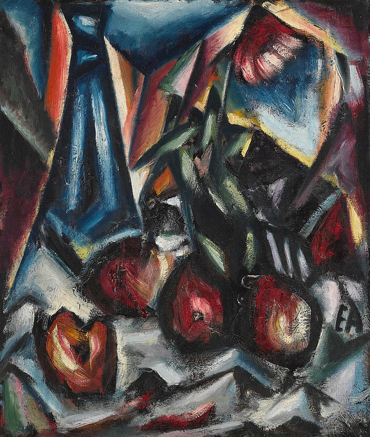EGON ADLER | Still Life with Apples