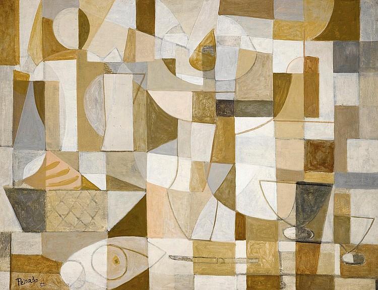 JOAQUÍN PEINADO   CubistStill Life