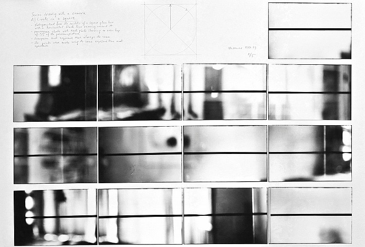 DÓRA MAURER | Drawing with the Camera. Circle in aSquare