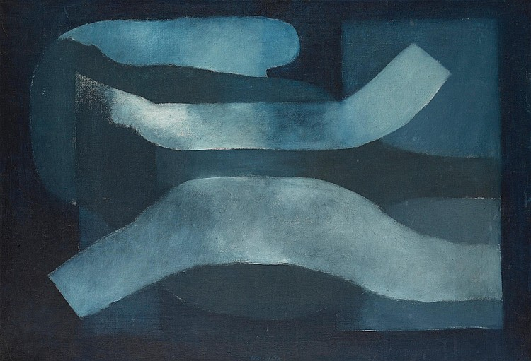 KAREL VACA | Blue Painting