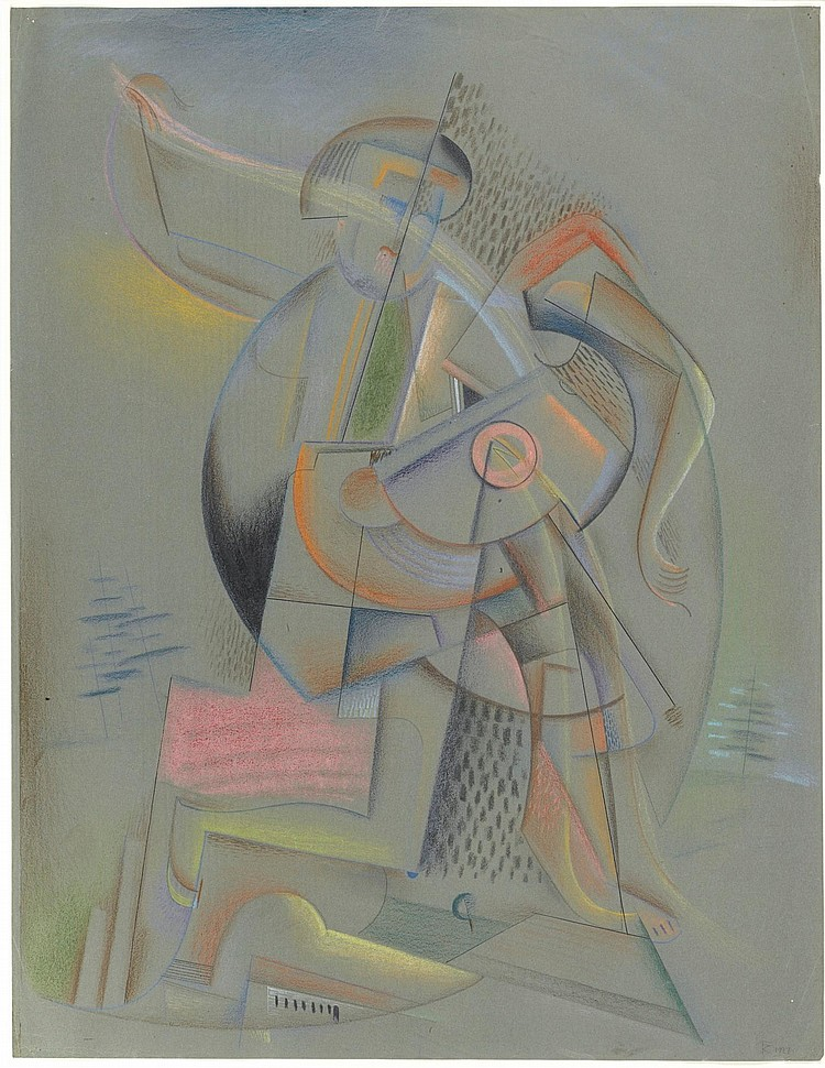 THOMAS RING | Cubist Figure