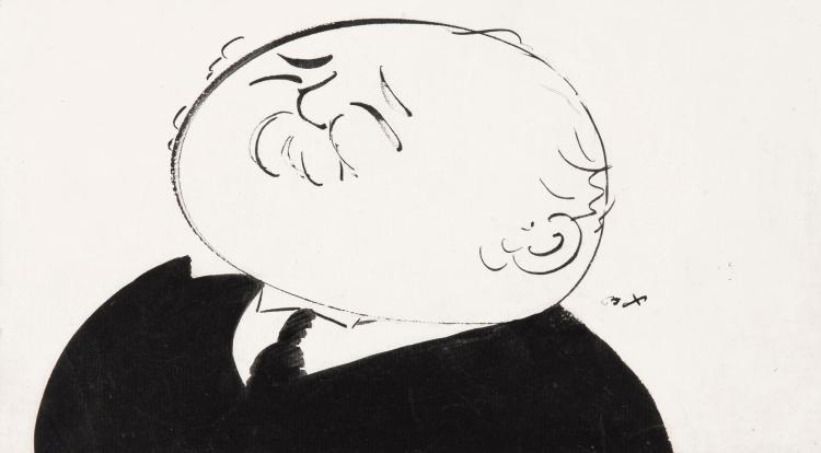 BEERBOHM, 'SIR HENRY CAMPBELL-BANNERMAN', INK, [N.D.]