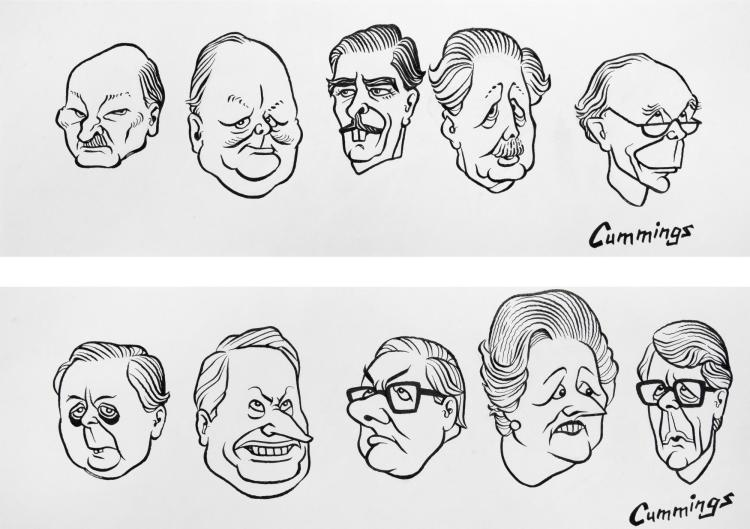 CUMMINGS, 'FROM CLEMENT ATTLEE TO JOHN MAJOR', INK, 1994