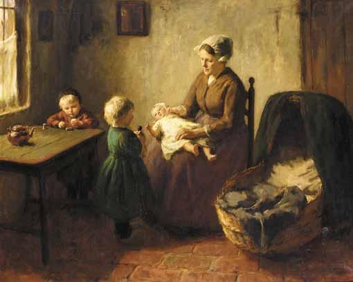 BERNHARD POTHAST, DUTCH 1882-1966