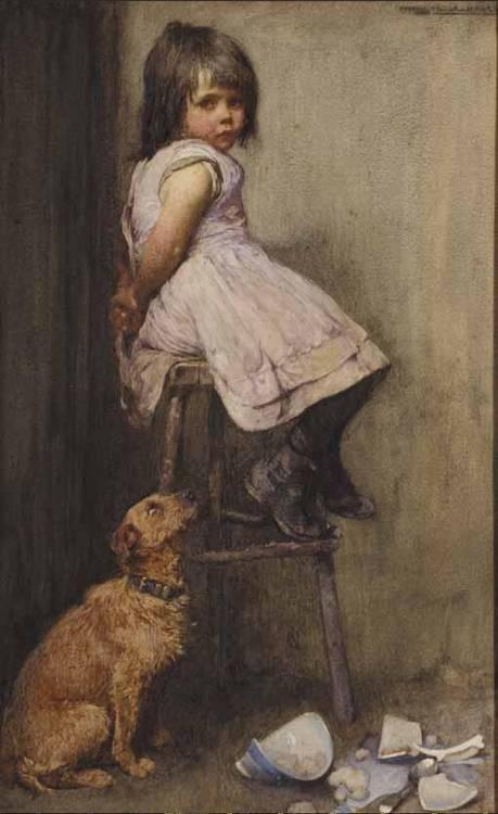 JOHN HENRY HENSHALL, BRITISH 1856-1928