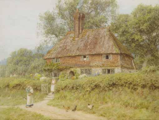 HELEN ALLINGHAM R.W.S., BRITISH 1848-1926