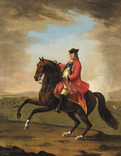 DAVID MORIER C.1705-1770
