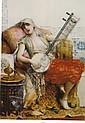 LEON FRANCOIS COMERRE (FRENCH 1850-1916) THE MUSICIAN, Leon Francois Comerre, Click for value