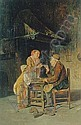 GIUSEPPE CONSTANTINI (ITALIAN 19TH CENTURY) AT THE COBBLER'S, Giuseppe Constantini, Click for value