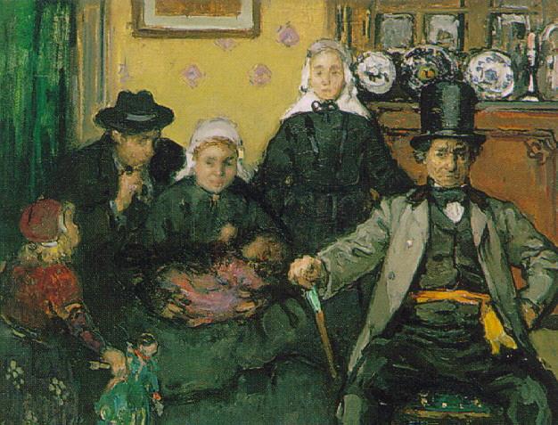 FRANS CHARLET (BELGIAN 1862-1928) LE BOURGMESTRE