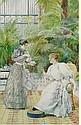 LOUIS EMILE ADAN (FRENCH 1839-1937) TEA ON THE VERANDAH, Louis-Emile Adan, Click for value