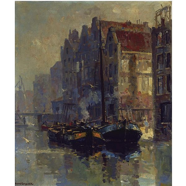 Frans Langeveld , Dutch 1877-1939 