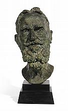 SIR JACOB EPSTEIN | Second Portrait of George Bernard Shaw (head)