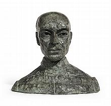 SIR JACOB EPSTEIN | Second Portrait of Pandit Nehru (Bust)