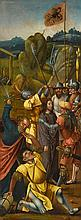 ANTWERP SCHOOL, 16TH CENTURY   The wing of an altarpiece: The arrest of Christ